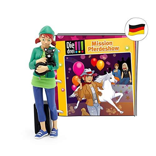 tonies Hörfiguren für die Toniebox - Die DREI!!! - Mission Pferdeshow Figur - ab 8 Jahren ca. 64 Minuten - Deutsch