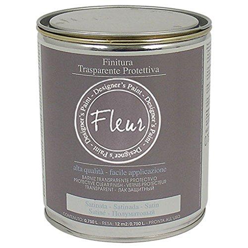 Fleur Designer'S Paint Fleur Vernice Finale Trasparente Lucida - 750 Ml