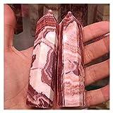 JSJJAHN Piedras y Cristales 6-7 cm 1pc Pilares Naturales Pilares de Carne for la decoración (Size : 1pc)
