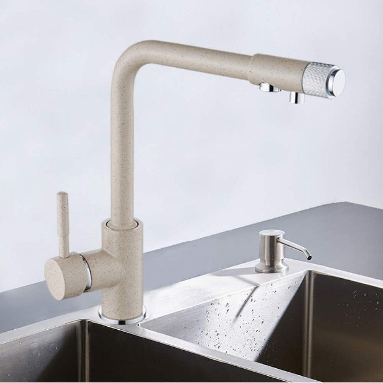 Lddpl Wasserhahn Filter Küchenarmatur Kalte Und Heie InsGrößetion Mischbatterie Deck Drehen Sich Um 360 Grad Und Die Wasseraufbereitung Functi