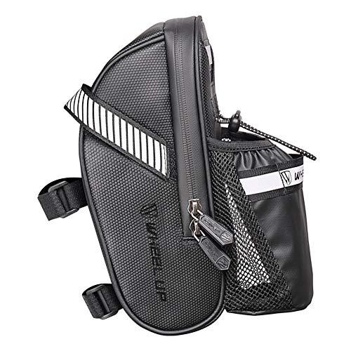 daj Bolsa para sillín de bicicleta de 1 litro, bolsa de almacenamiento para botella de agua