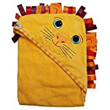 Extra Large 40'x30' Velour Hooded Towel, Lion, Frenchie Mini Couture