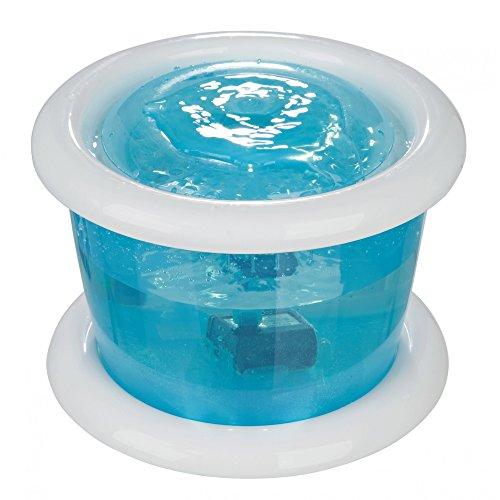Trixie Distributeur d'eau Bubble Stream (3 l) (bleu/blanc)