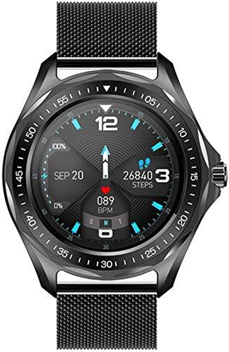 Fitness Tracker Reloj S09 Smart Watch Frecuencia Cardíaca Monitor de Presión Arterial Clima Reloj Inteligente Moda Impermeable A