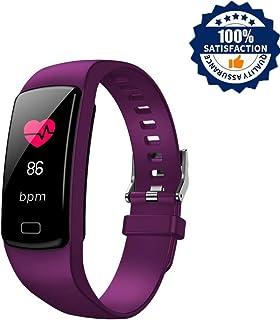 ALTHWATDI Relojes Inteligentes Actividad Impermeable IP67 Pulsera Inteligente 0,96 Pulgadas Pantalla Color Monitor Ritmo Cardíaco y Sueño 4 Modos de Deporte Mujer Hombre Niño Smart Watch