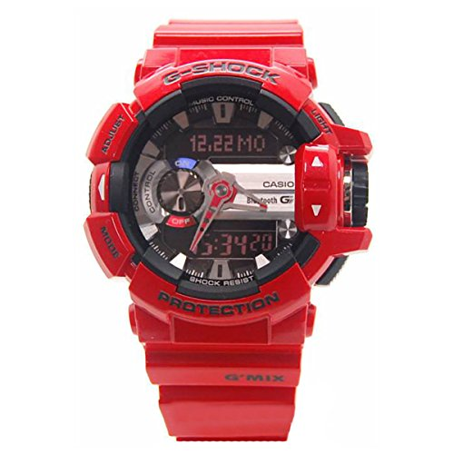 Casio G-Shock GBA400-4A Classic Series Stylish Watch - Red/Black / One Size