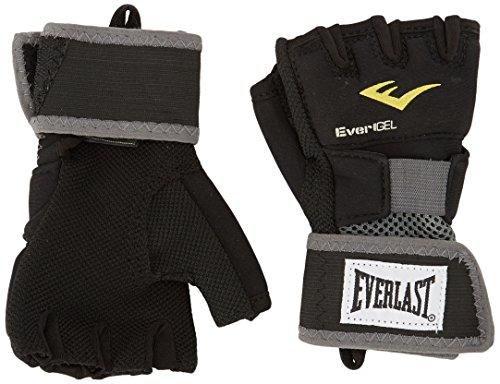 Everlast 4355B - Guantes con gel, Negro S