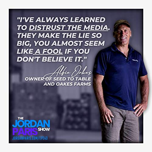 Alfie Oakes of Seed to Table | The Jordan Paris Show | Podcasts on Audible  | Audible.com