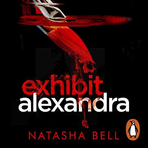 Exhibit Alexandra audiobook cover art