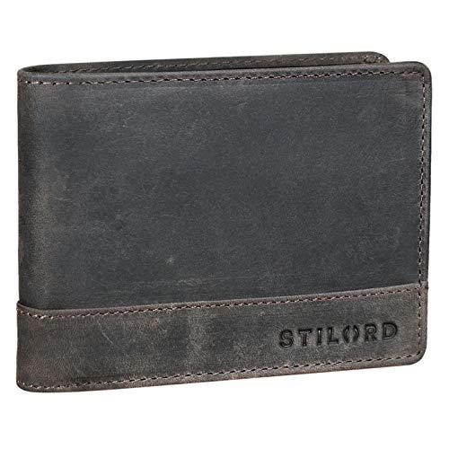 STILORD 'Lucius' Cartera Hombre Cuero Vintage RFID Billetera Elegante para Tarjetas Monedas...