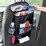 Ruesious Universal Auto Coche Bolsa de Almacenamiento Organizador Preservación del Calor Accesorios Botella Smartphones Monedas