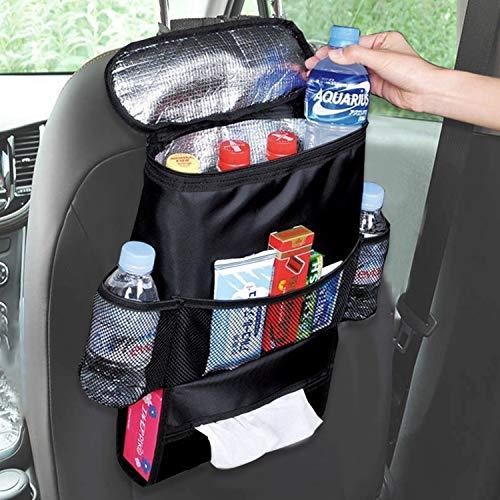 Siège arrière de voiture organisateur, poche pour siège de voiture, siège Dossier Organiseur,
