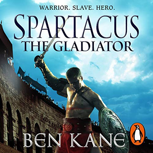 Spartacus: The Gladiator audiobook cover art