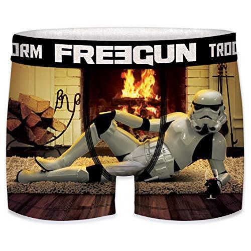Freegun - Boxer da uomo Stormtrooper Shepperton Design Studios (S, Caminetto