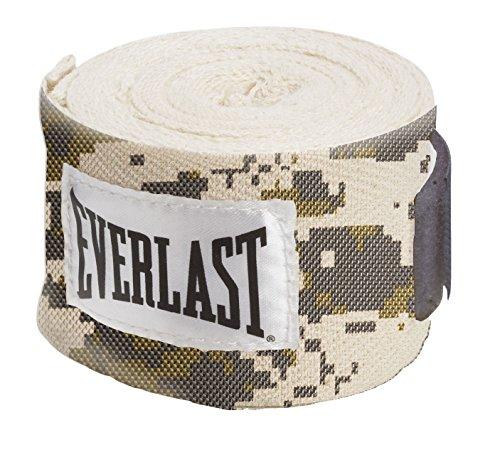 Everlast Erwachsene Boxartikel 1300005 180 Handwraps Boxen - Sandsackzubehör, Camo, One size