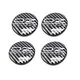 4 Uds 62mm tapa de cubo de centro de rueda de coche estilo de coche llantas cubierta insignia emblema pegatinas para OZ RACING