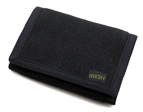 Our #5 Pick is the Hempmania Hemp Eight Compartment Vegan Wallet