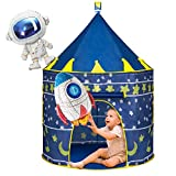 Joyjoz Kinder Spielzelt mit 2 Luftballons, Raumschiff Kinderspielzelt für Jungen Mädchen, Pop Up...