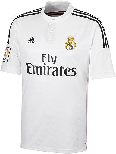 adidas Performance - Maillot - Real Madrid 2014/15 - blanco ...