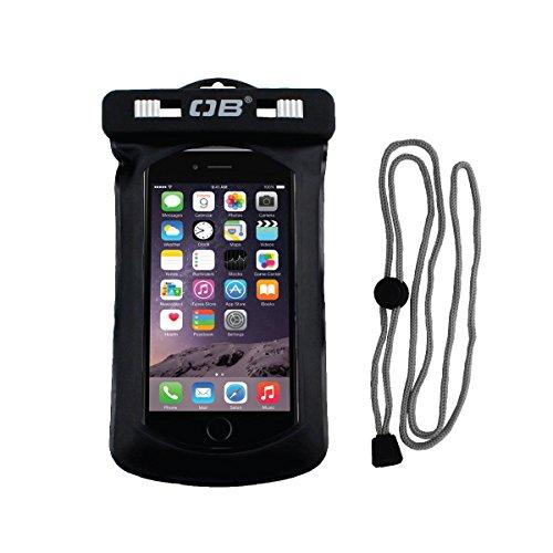 Overboard Wasserdichte iPhone Tasche, Schwarz, 28 x 16 x 2 cm, OB1008BLK