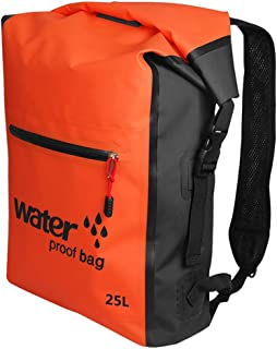 Waterproof Adventure Backpack Mesh Lightweight Durable Padded Shoulder Straps Camping Boating Bag for Photography, Diving, Camping, Hiking, Cycling, Fishing, Leisure, Beach, etc.