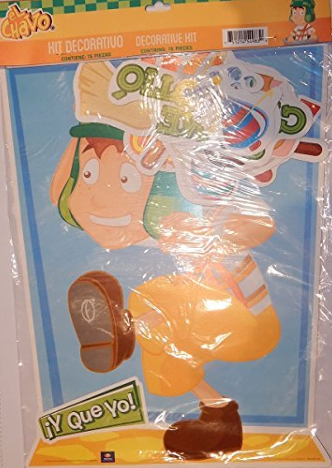 El Chavo 15 Piece Party   Room Decoration Kit by Granmark