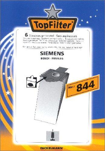 Fackelmann Top Filter 6 Staubsaugerbeutel Nr. 844