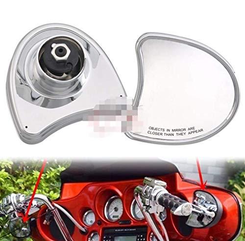 Revisión-Spiegel, 2st Motorrad Chrome Estilo Antiguo Batwing Verkleidungs  Spiegel GEPASST para Harley Electra Glide FLHT FLHTC 96-13 Batwing VerkleidungsSPIEGEL Banhai