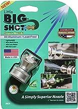 K-Co Innovations Aluminum Big Shot Nozzle - Garden Hose Nozzle - High Pressure Water Nozzle - Jet Water Hose Nozzle - Power Hose Nozzle - Water Hose Nozzle - (Single)