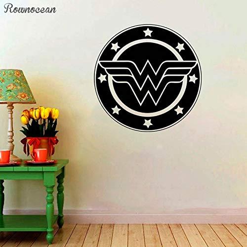 Tianpengyuanshuai stickers met logo voor dames, muurschildering en tieners.