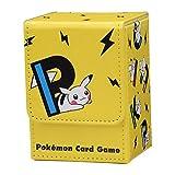 ポケモンセンターオリジナル ポケモンカードゲーム フリップデッキケース PIKAPIKACHU YE