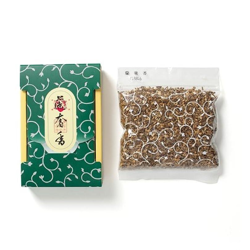 フレームワークなめらかな委員会松栄堂のお焼香 蘭奢香 25g詰 小箱入 #410741