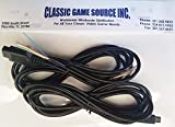 Classic Game Source Inc. Due 8FT 9 pin Wires Cable Replacement Cord per riparare Commodore Amiga CD32 controller Joystick