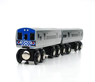 Munipals Wooden MNRR: Metro North Rail Road (2 Car Set)