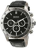 Hugo Boss - 1513178 - Ikon - Montre Homme - Quartz Analogique - Cadran Noir - Bracelet