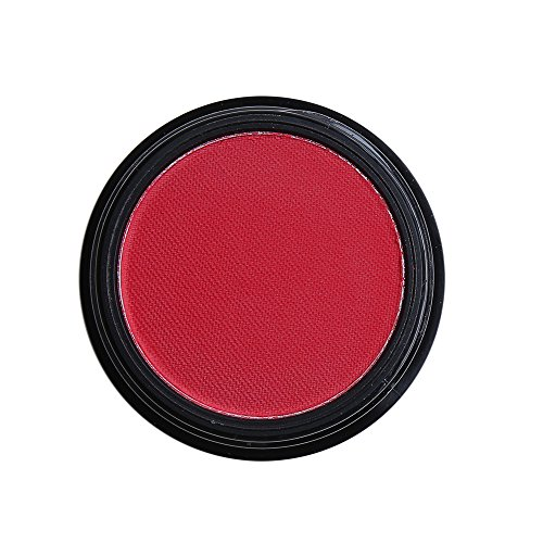 Battnot Lidschatten Matte Cosmetic Lidschatten Creme Lidschatten Makeup Kosmetik Monochrome Lidschatten der Kartoffel matt Eyeshadow (rot)