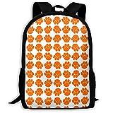 XCNGG Mochila de impresión de fotograma completo para adultos Mochila informal Mochila Mochila escolar NiYoung Casual Large College School Daypack - Laptop Outdoor Backpack Crazy Tiger Paws Style Back