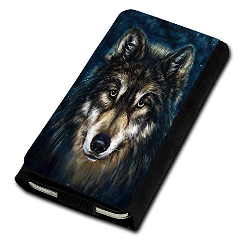 sw-mobile-shop Book Style Flip Handy Tasche Case Schutz Hülle Foto Schale Motiv Etui für Medion Life E5001 - Flip U5 Design12