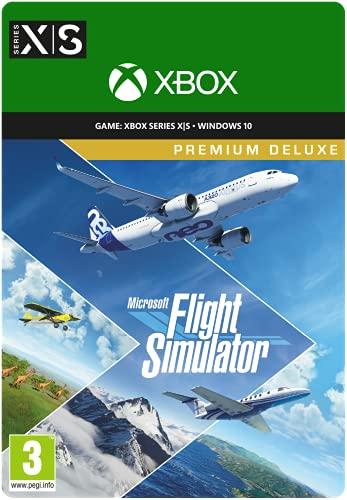 Microsoft Flight Simulator Premium Deluxe Edition   Digital code for PC and...