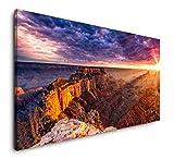 Paul Sinus Art Grand Canyon 120x 60cm Panorama Leinwand