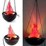 Divya Nisha Shri Balaji Enterprises-Flame Lamp Artificial Fire Hanging Light for Party, Holiday