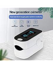 Eccomum Digital Fingertip Pulse Oxi-m-eter OLED Display Blood Oxygen Sensor Saturation Mini SpO2 Monitor Pulse Rate Measurement Meter for Nursing Home Sports Lover