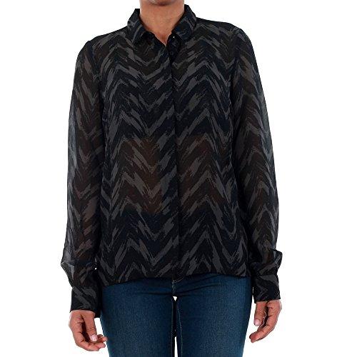 Vero Moda Camisa Mujer M Negro 10195565 VMKATINKA L/S Shirt SB1 Black/Katinka