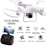 Yush FPV RC Drone with Camera 720P HD Quadcopter with Adjustable Wide-Angle Live