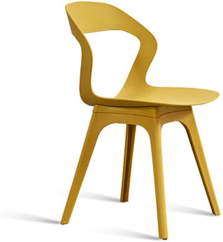 Bar Chair Lounge Chair Simple Lazy Chair Desk Chair Backrest Stool 7 colors 1 Size (color   D)