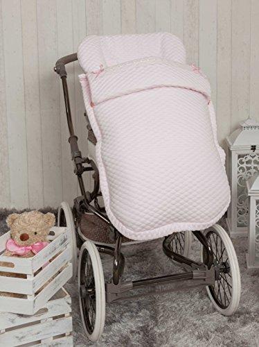 Babyline Sweet - Saco de silla de paseo, color rosa