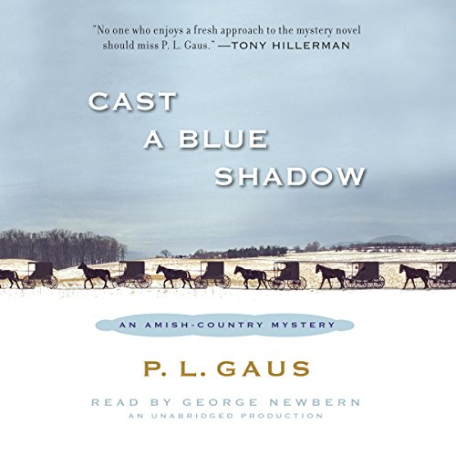 Cast a Blue Shadow audiobook cover art