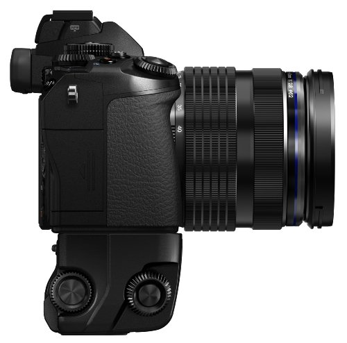 Olympus HLD-7 - Empuñadura para cámaras Digitales OM-D E-M1, Color Negro