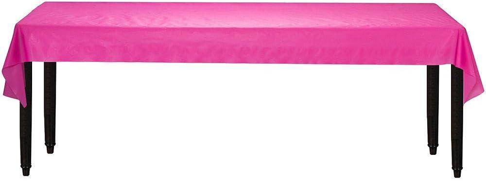 40 x 250 amscan Yellow Sunshine Jumbo Plastic Table Roll 77021.09 Party Supply