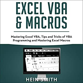 Excel VBA & Excel Macros cover art